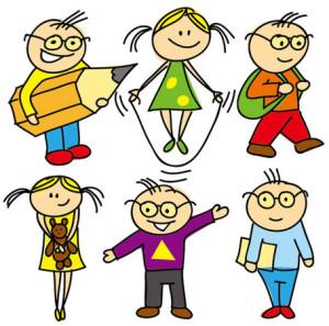 cartoon-images-of-children-02-vector-material-14401